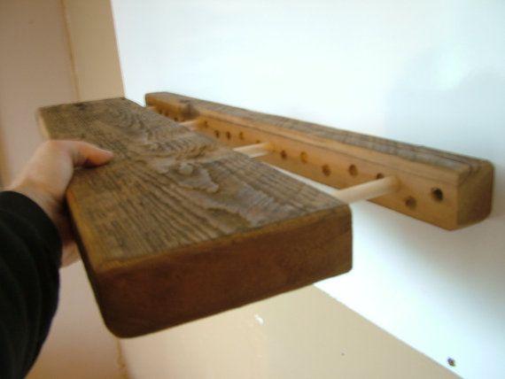 Reclaimed Barn Wood 3 Floating Shelf Combo By Barnwooddesignsny
