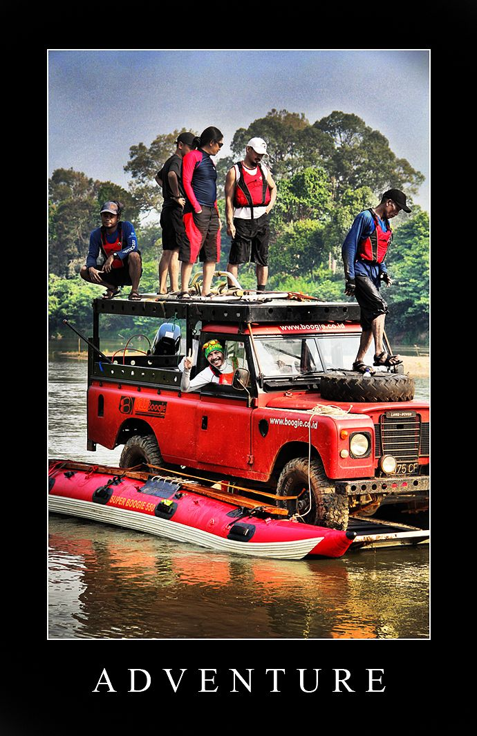 Land Rover #RoverRiver #Adventure At Musi River #By AbahNaArga