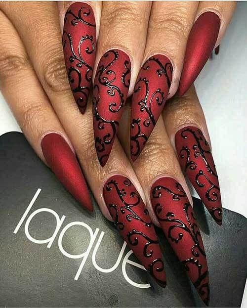 fantastic nail designs long also you got boyfriend wit them nails rh pinterest