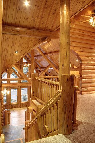 sierra log homes Log Home Decorating Ideas And Then Some