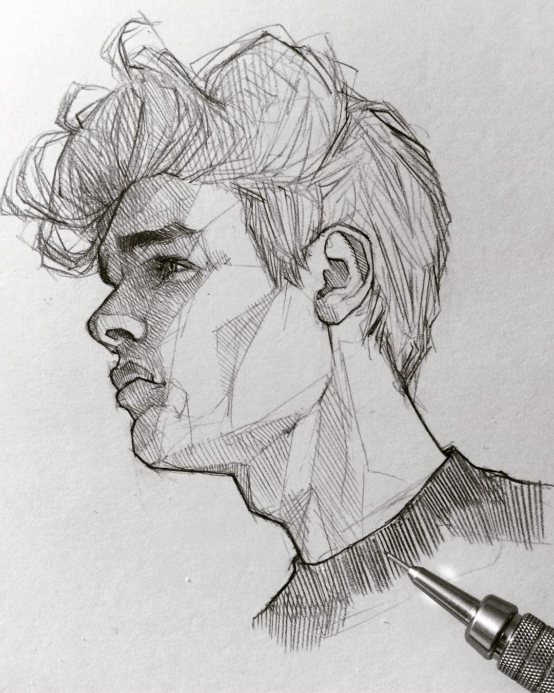 drawings of people - 736×920