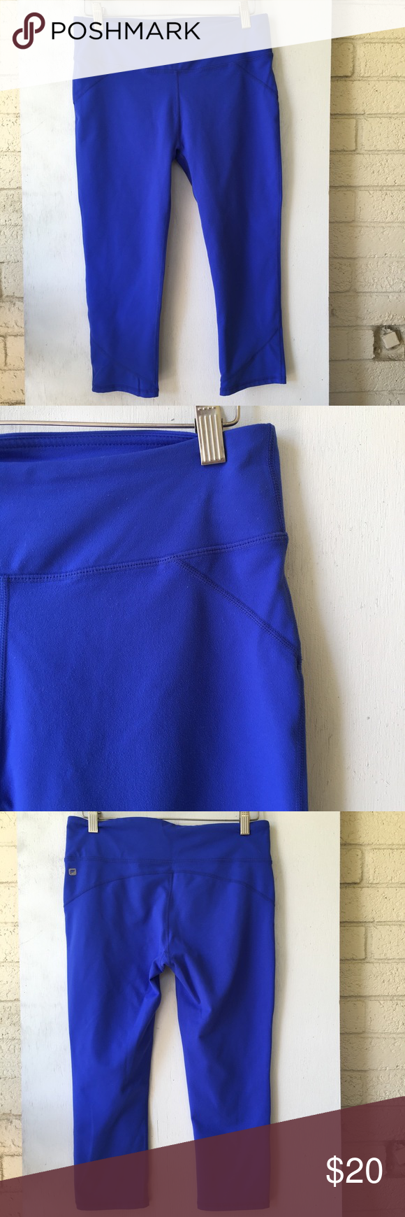 Fabletics Salar crop pants EUC - only worn a handful of times. Mid-rise, Capri length, great workout pants! I removed the size tag because it was so itchy! But they're definitely a medium. Fabletics Pants Leggings