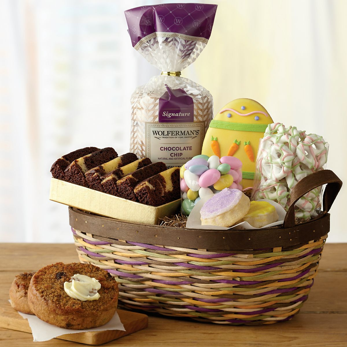 Easter gift basket easter baskets delivered wolfermans easter gift basket easter baskets delivered wolfermans negle Image collections
