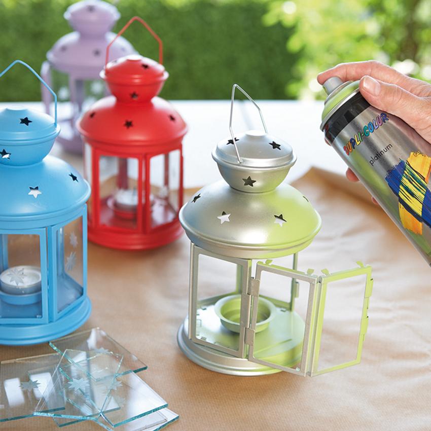 Unser Dupli-Color Buntlack-Spray bringt deine Garten-Accessoires in Frühlingsstimmung.