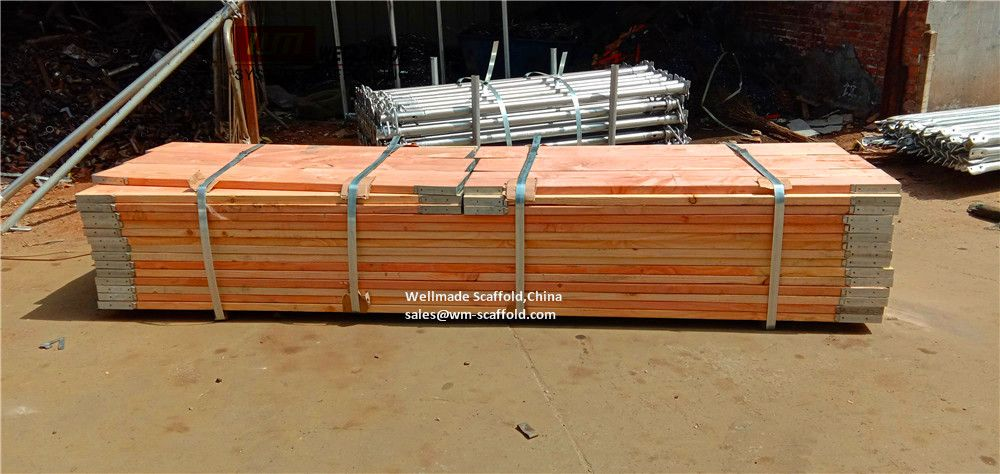 13 Foot Scaffold Boards Fireproof Fire Retardant Treatment Wood Oil Gas Rigging Industrial Scaffolding Materials Offshore Onshore Suspended Hang Scaffold Boards Scaffolding Aluminum Planks