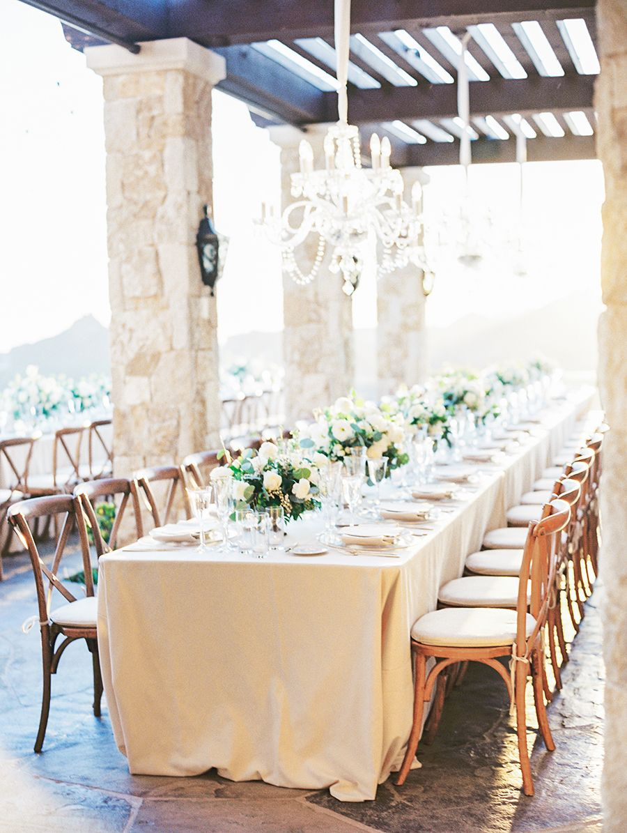 An Elegant Hilltop Wedding With The Prettiest Ever Perspective