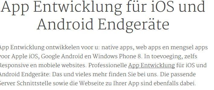 Ideen App diese apps sind bereits im app store erhältlich allerdings