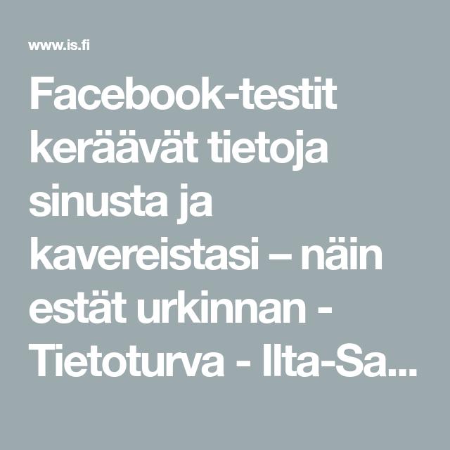 Facebook Testit
