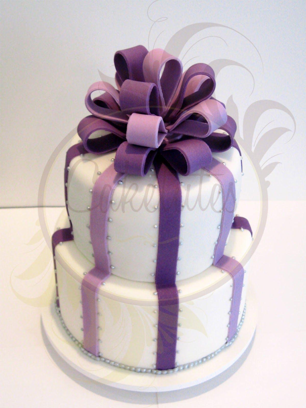 Caketutes Cake Designer: Purple cake - Bolo Roxo e Lilás