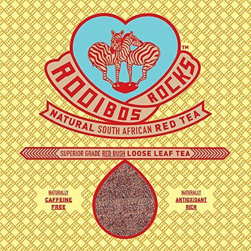 Rooibos Rocks South African Red Bush Loose Leaf Tea 16oz
