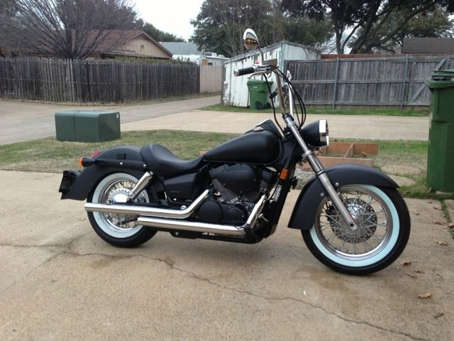 Honda Shadow Aero With Apes Awesome Nice And Clean Design And