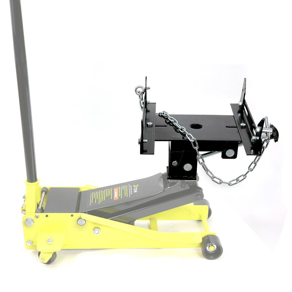 Stark 1 2 Ton Steel Transmission Hydraulic Floor Jack Adapter 56028 The Home Depot In 2020 Transmission Floor Jack Hydraulic