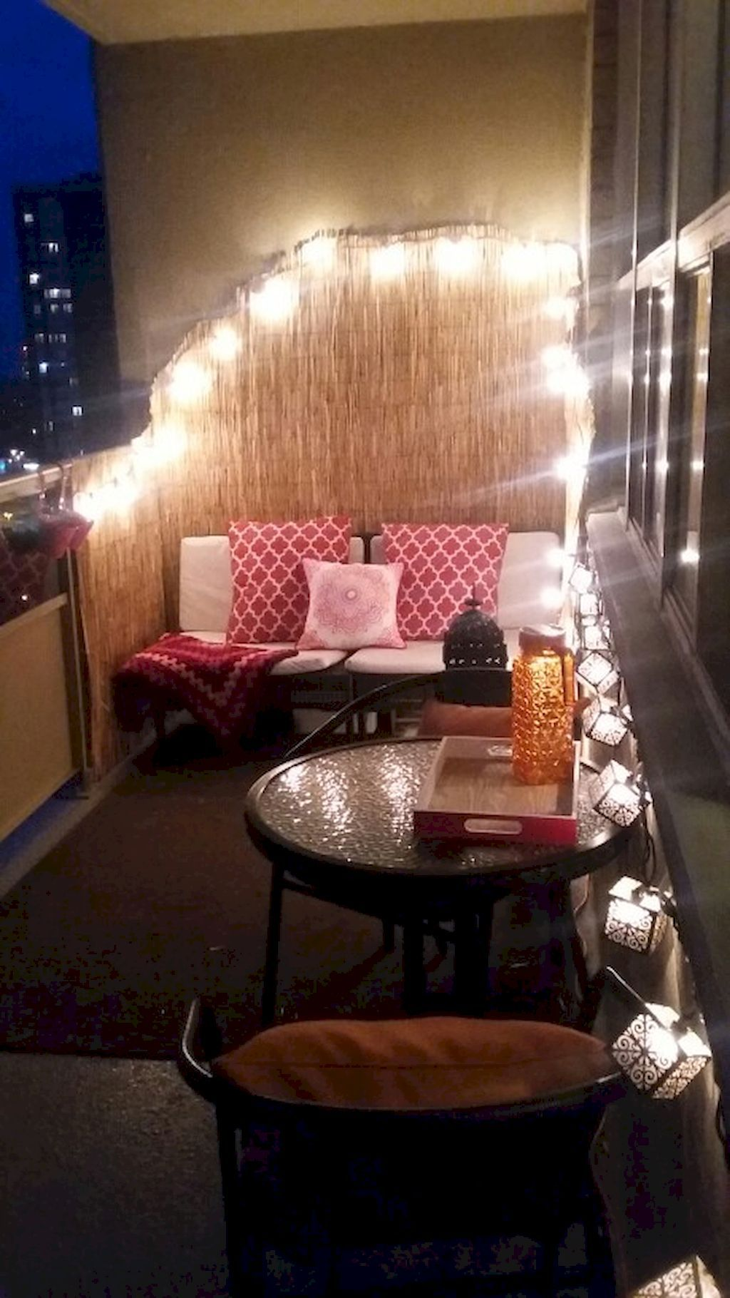 60 Affordable Cozy Apartment Balcony Decorating Ideas #apartmentbalconydecorating
