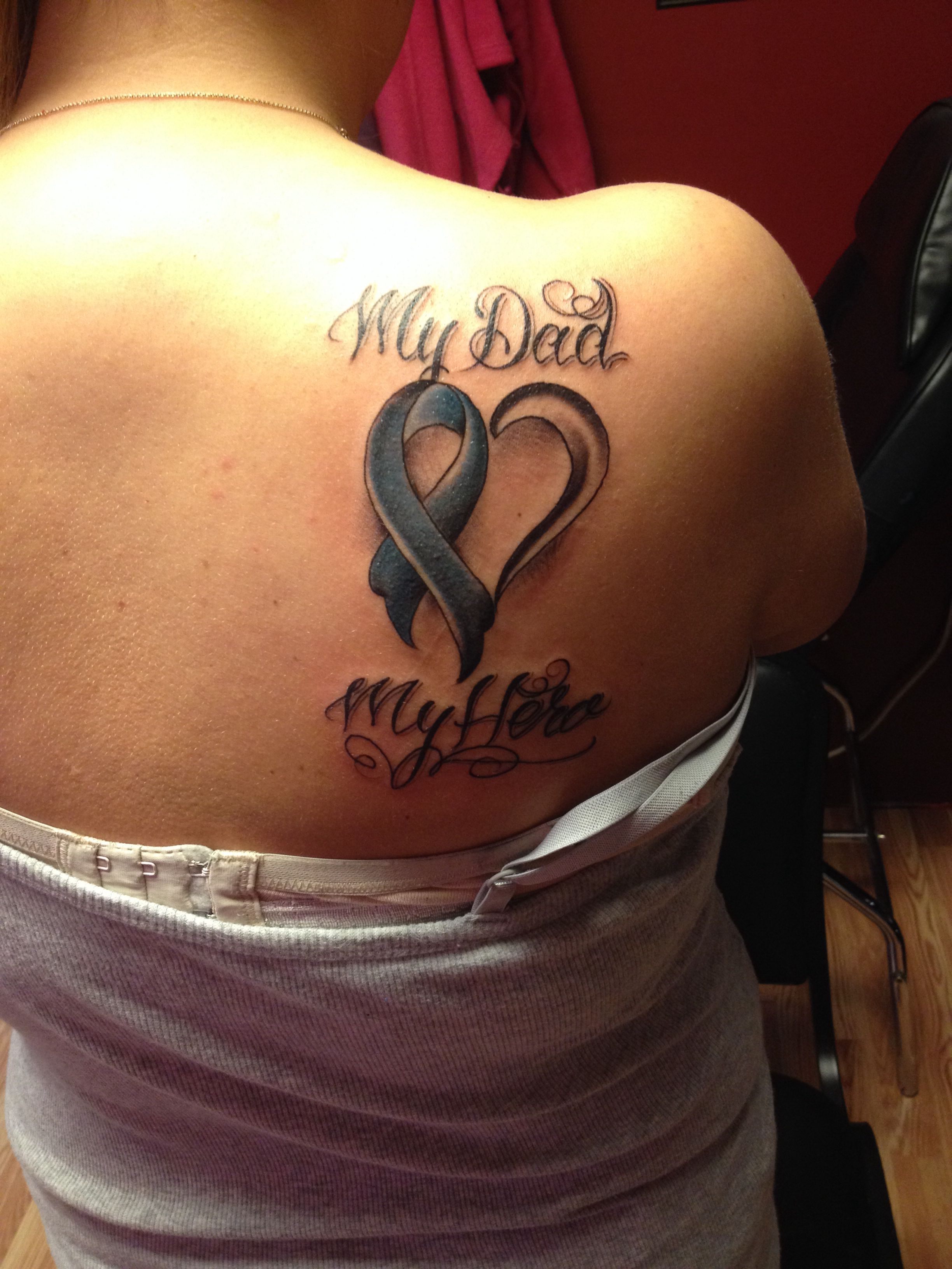 My First Tattoo This Is For My Dad Who Is Battling Prostate Cancer