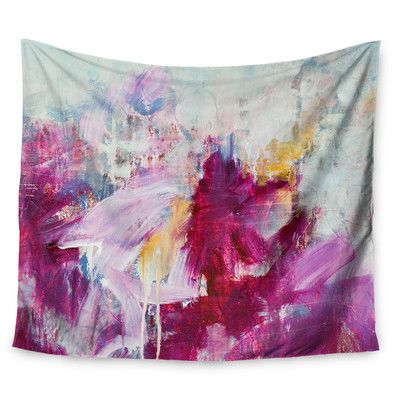 "East Urban Home Magenta by Iris Lehnhardt Wall Tapestry Size: 50"" H x 60"" W"