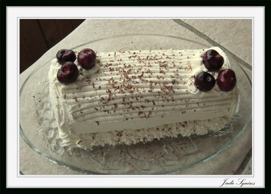 Sponge Cake Jelly Roll Recipe: Organic Jelly Roll Yule Log