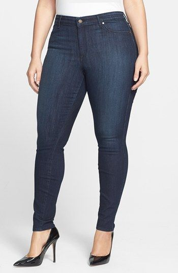 a082a24444fe CJ by Cookie Johnson  Joy  Stretch Skinny Jeans (Kahana) (Plus Size)  available at  Nordstrom