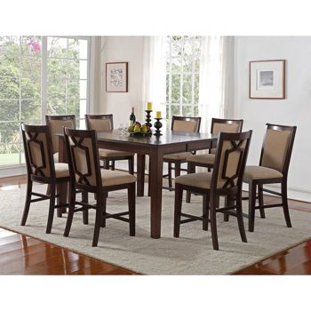 Stratton 9 Piece Counter Height Dining Set