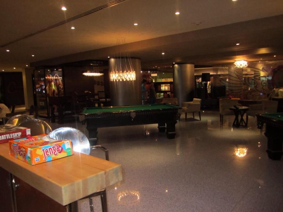Games Area By The Lobby Bar Pool Tables Shuffle Board Tables And Board Games Bar Pool Table Lobby Bar Pool Table