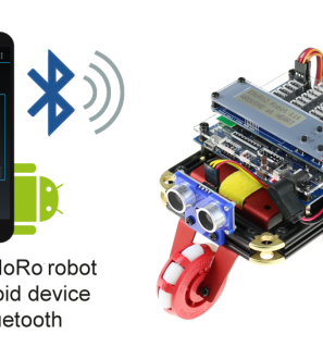 Robot Kit for Robotics Competitions and Teaching STEM in School