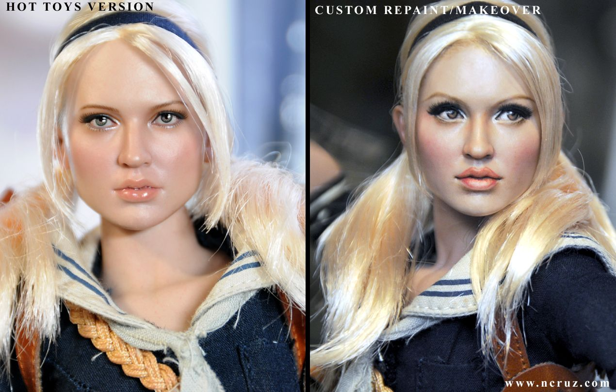 Hot Toys Babydoll Hot Toys Sucker Punch Babydoll Repaint Final Vers By