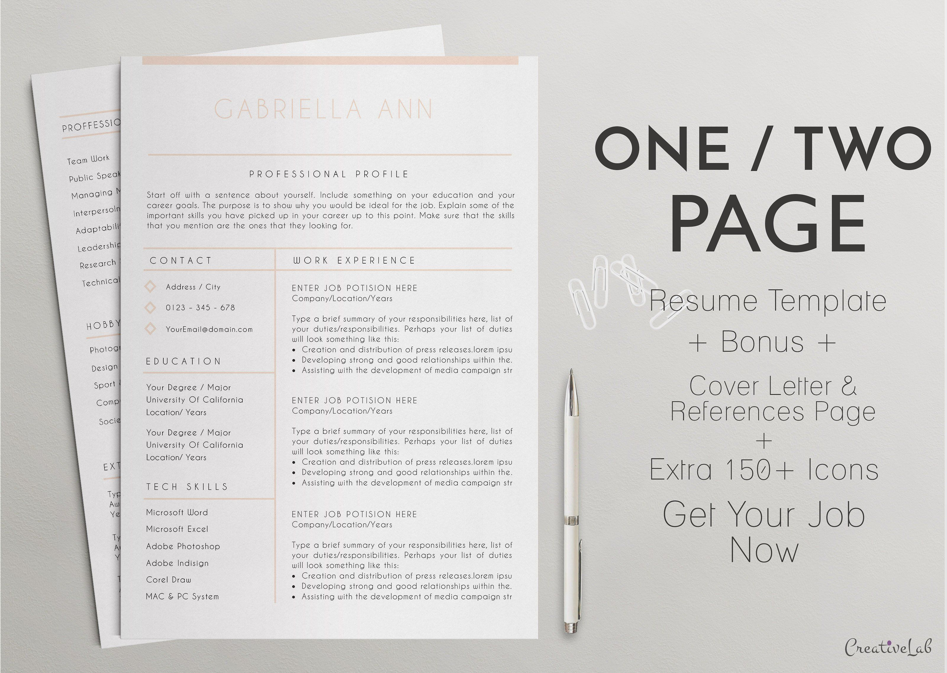 Professional resume cv template 10 resumes 1 resumes professional resume cv template 10 resumes 1 yelopaper Gallery