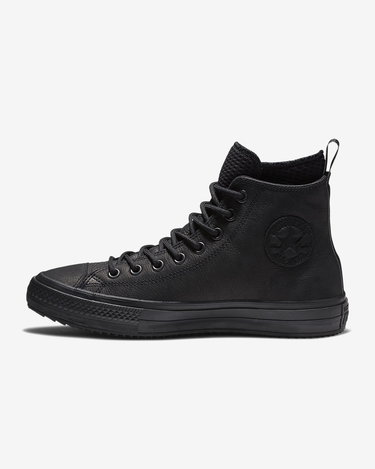 Unisex leather boots, Chuck taylors