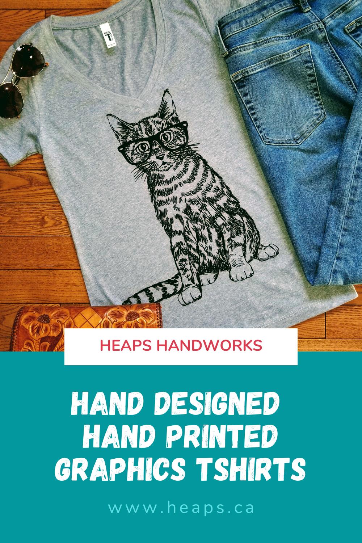 Hand Designed and Hand Printed Hipster Cat Women's Tshirt #Cat #Instacat #Instacats #Meow #Instacat_meows #Kitty #Kittycat #Catofinstagram  #Cutecat #Instapet #Catoftheday #Kittylove #Instakitty #Cateye #Catlover #Cateyes  #Catlovers #Cutecats #Animals #Catlove #Catloaf #Mypet #Kittens #Cats #Catstagram #Kitten #Pet #Meow #Gato #ilovemycat #fashiondetails #fashionwear #fashionbeauty #fashiontrend #fashiontrends #fashiongram  #fashiondiaries #fashioneditorial #fashiondiary #fashionaddicted