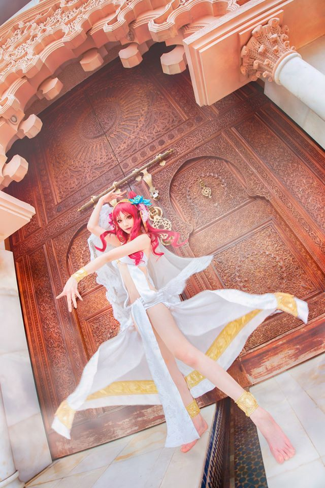 Morgiana (Magi: The Labyrinth of Magic),   Cosplayeur : Mon,   Photo : WorldCosplay