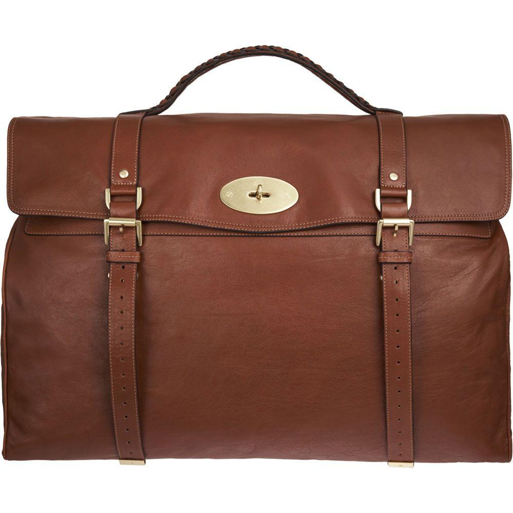 Mulberry Postmans Lock Travel Bag in Brown for Men (oak)  fc84d5e0ea2f4