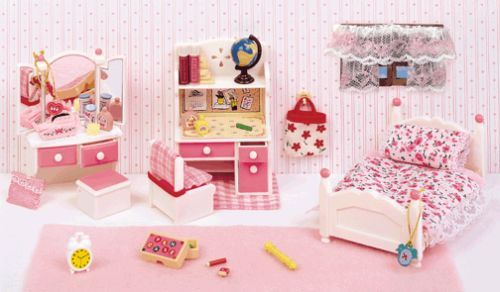 Calico critters furniture kitchen living room bedroom bathroom | For ...