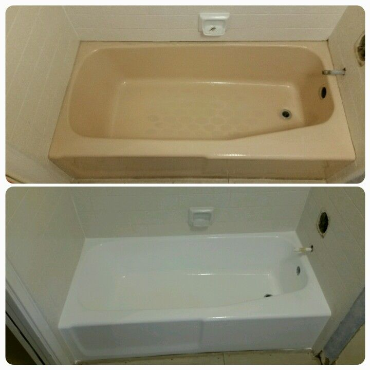 Got an old pastel colored bathtub you\'d like to update without ...