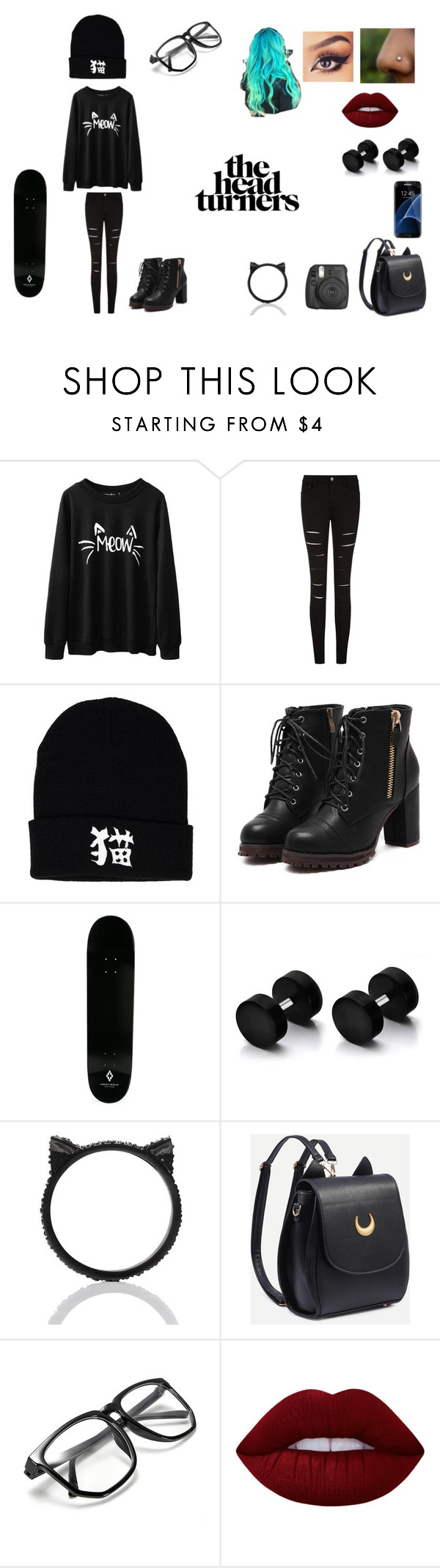 """""""Untitled #93"""" by juliab3638 on Polyvore featuring County Of Milan, Kate Spade, Lime Crime, Fujifilm and Samsung"""
