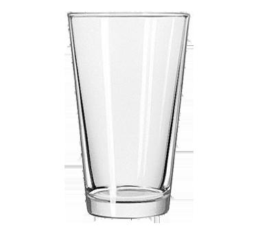 Set of 4 16oz 1639HT Libbey Pint Glass with DuraTuff Rim