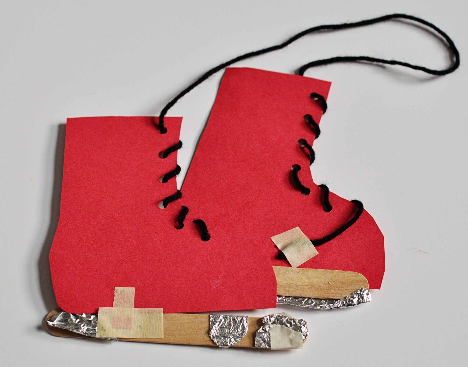 Ice Skate Craft  Pinned By Please Visit For All