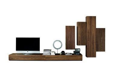 die vielfalt der tv m bel tv m belsystem nex pur box von piure podest lowboard und tv m bel. Black Bedroom Furniture Sets. Home Design Ideas