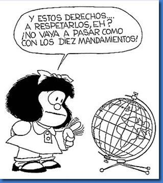 Las Frases De Mafalda Quino Mafalda Quotes Human Rights