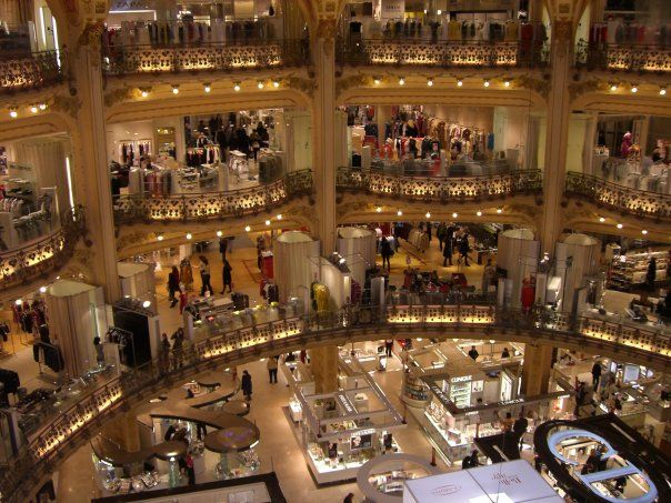 Window Shop In Parisian Boutiques But Purchase Items At One Of The Department Stores Such As Galeries Lafayet Trip Advisor Paris Shopping Paris Trip Planner