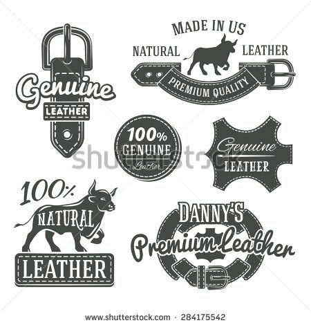 set of vector vintage leather belt logo designs retro quality labels monochrome genuine leather illustratio retro logo design logo design graphic design logo set of vector vintage leather belt logo