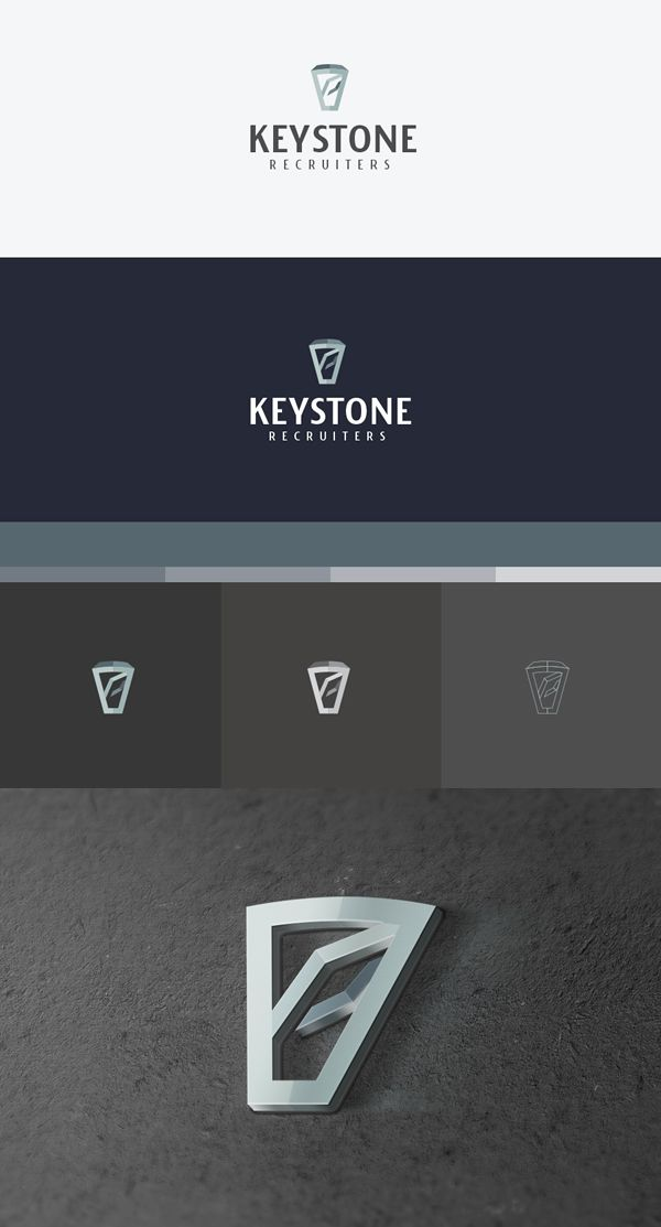 Keystone Recruiters Branding design on Behance