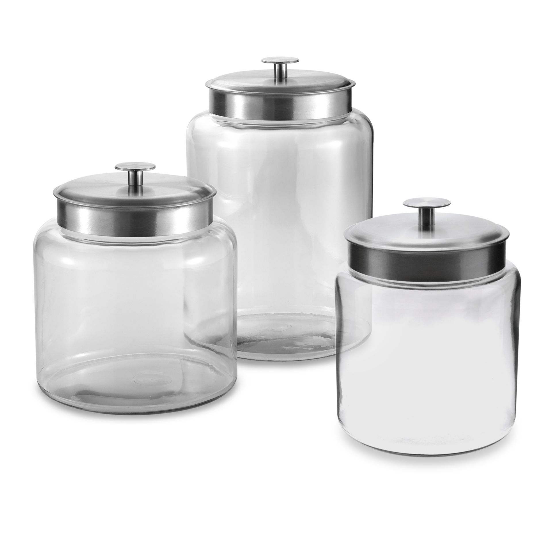 Anchor Hocking Montana Glass Jar with Lid - Bed Bath ...