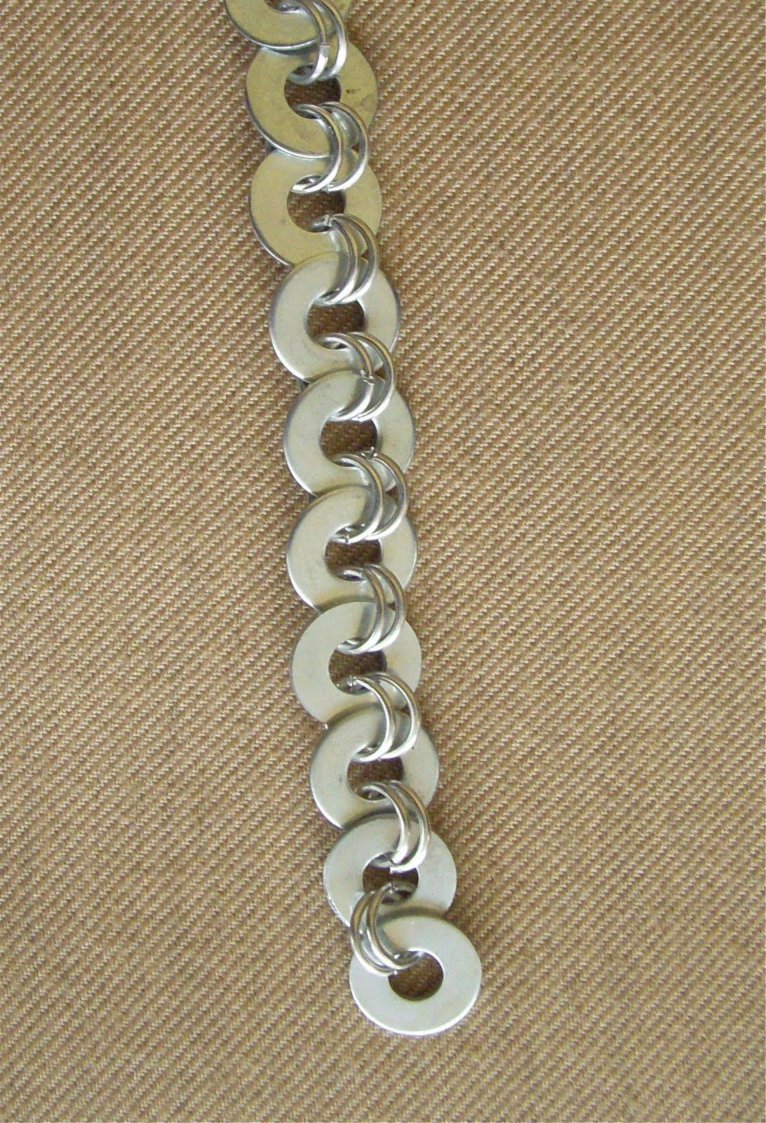 Hope Studios: Simple Washer Bracelets