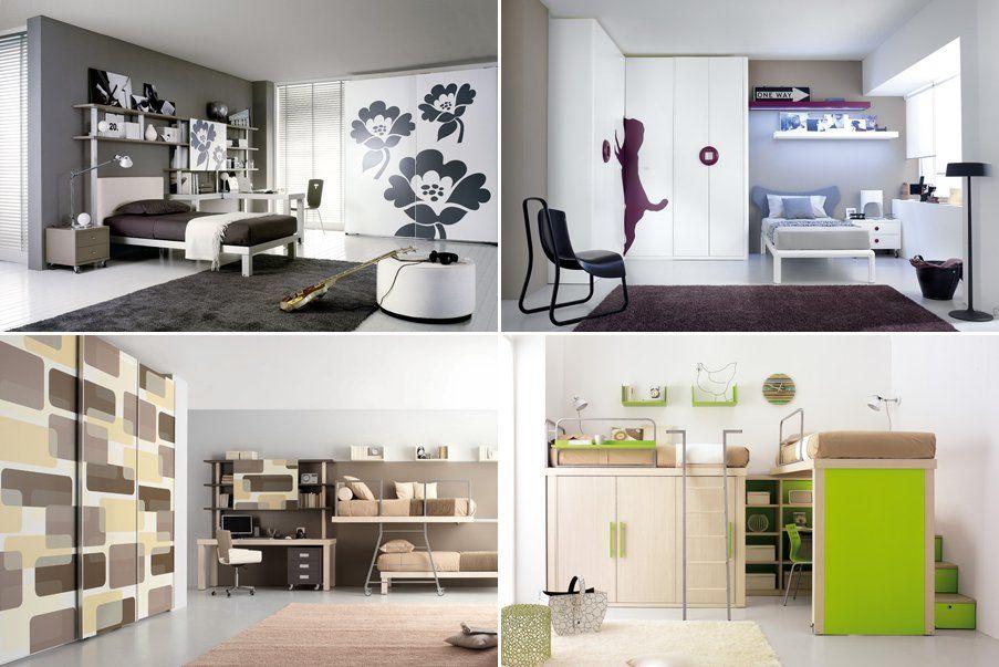 Muebles y accesorios para habitaciones juveniles de Tumidei