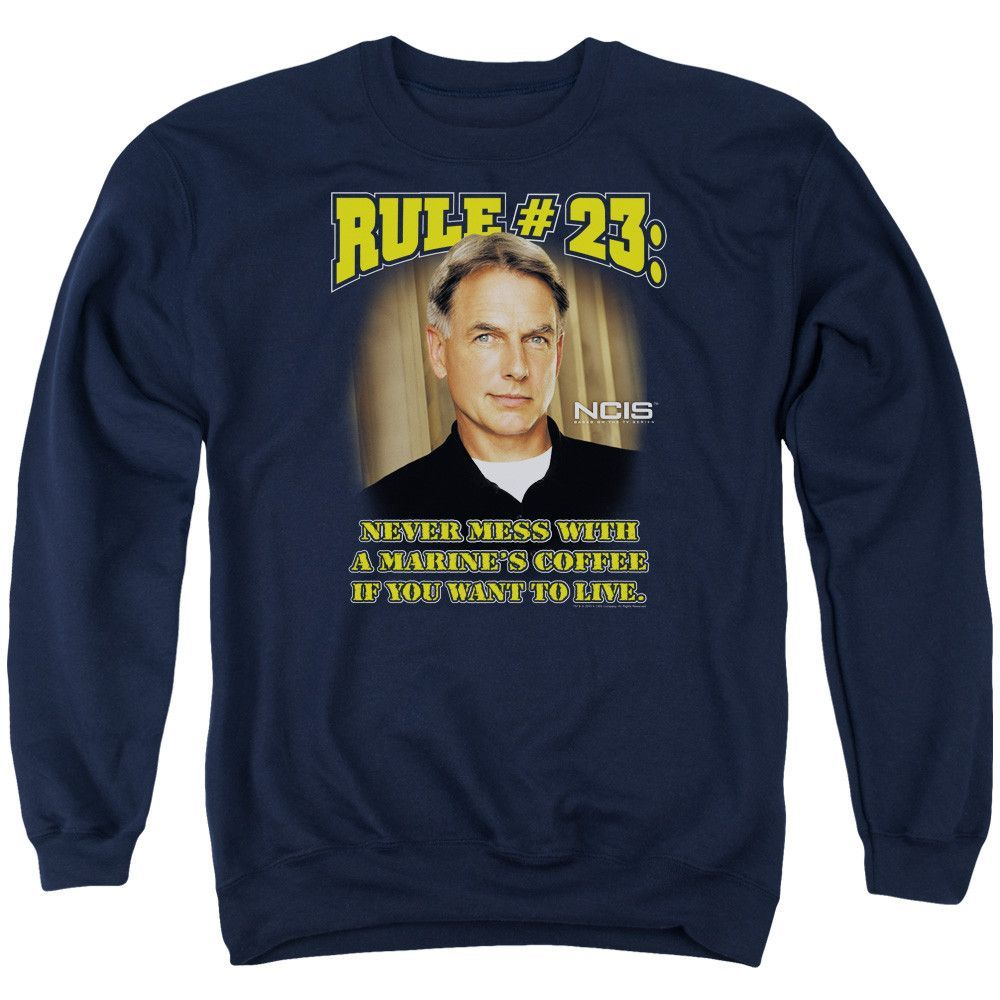 NCIS/RULE 23 - ADULT CREWNECK SWEATSHIRT - NAVY -