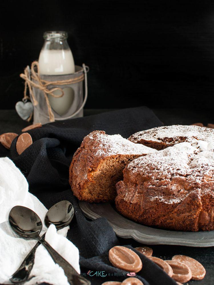 Photo of Torta morbida al cioccolato e nocciole_ Soft cake with caramel ch