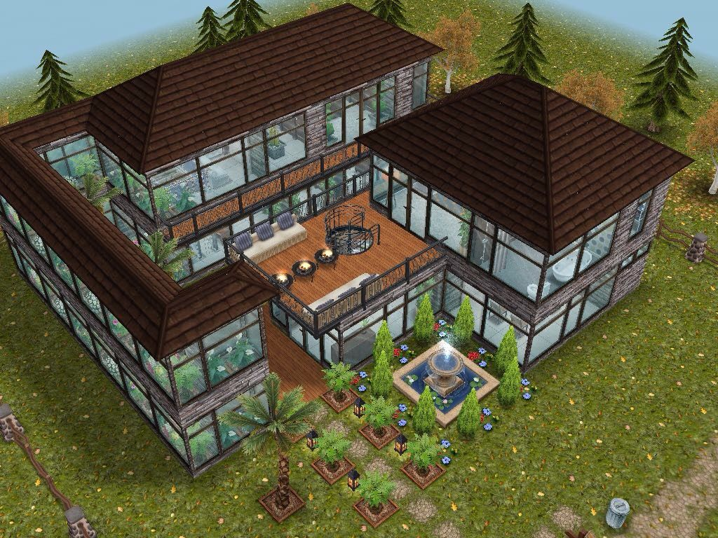 House 58 full view #sims #simsfreeplay #simshousedesign | Sims ...