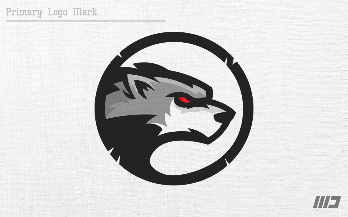 Wolves Logo Mark on Behance Biểu trưng, Đại bàng, Thiết