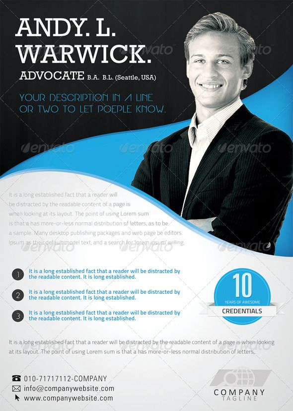 Advocate Corporate Flyer Graphicriver A Very Sleek And