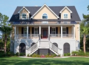 Family House Traditional Exterior Charleston Artistic Design And Construction Inc Traditional Exterior Family House House Styles