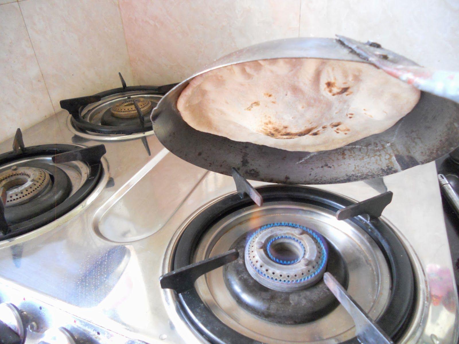 Tandoori Roti On Stove Top | Tandoori roti, Stove top, Roti